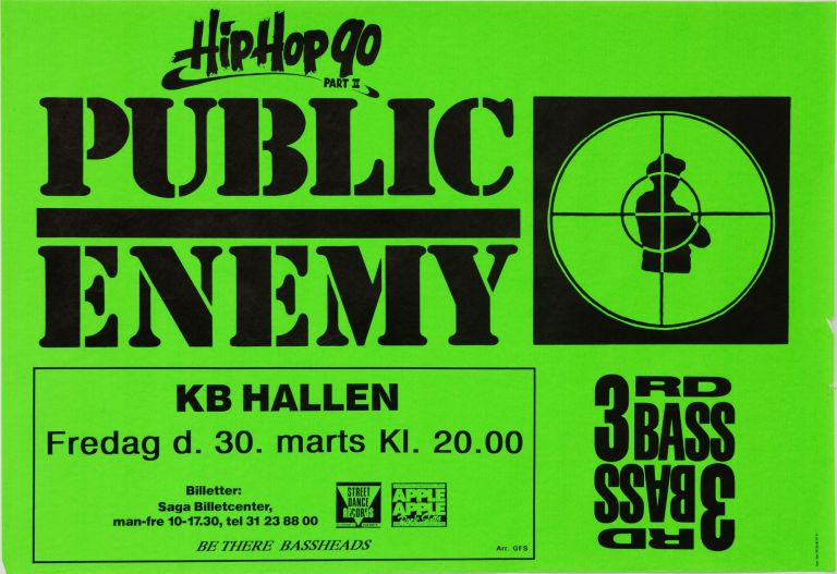 Hip Hop 90 Part II: Public Enemy and 3rd Bass at KB Hallen