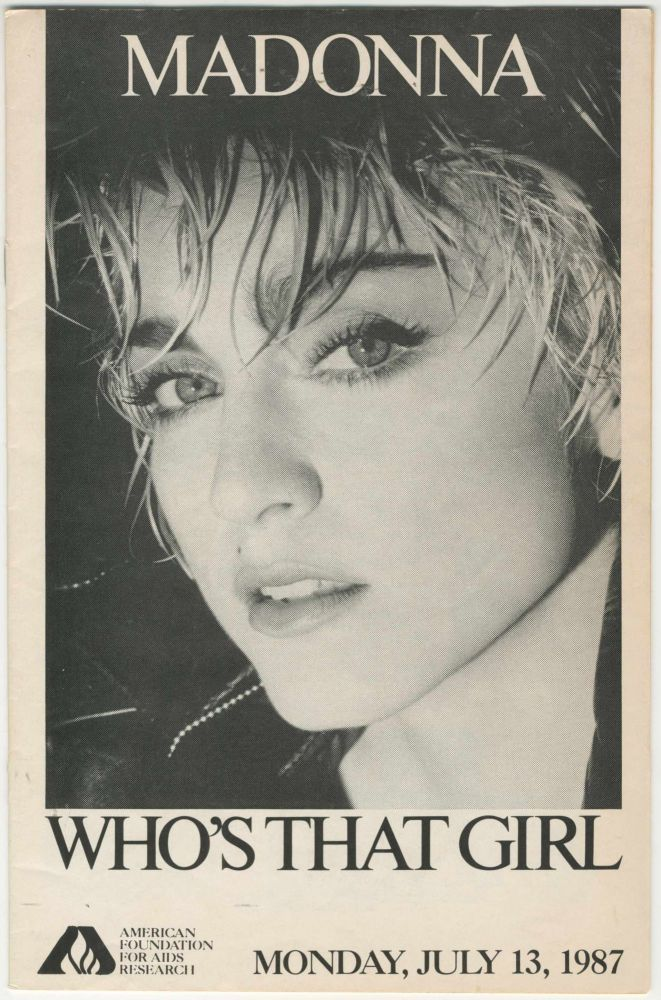 Madonna: Who's That Girl? [AIDS education]. Malcolm Ater.