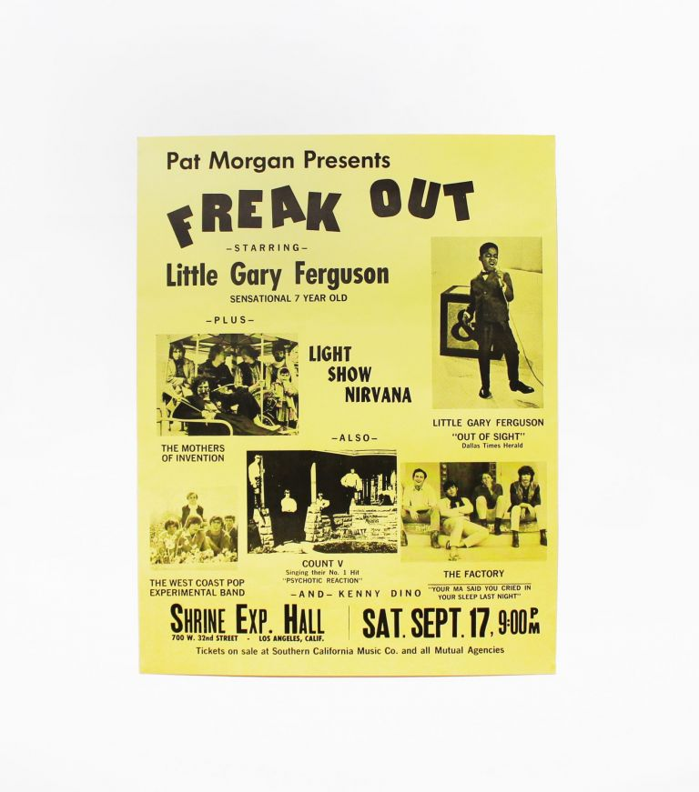 Pat Morgan Presents Freak Out Starring Little Gary Ferguson