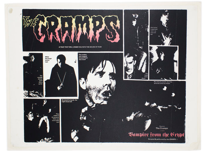 Vampire from the Crypt. The Cramps.