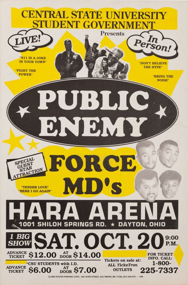 Public Enemy at Central State University