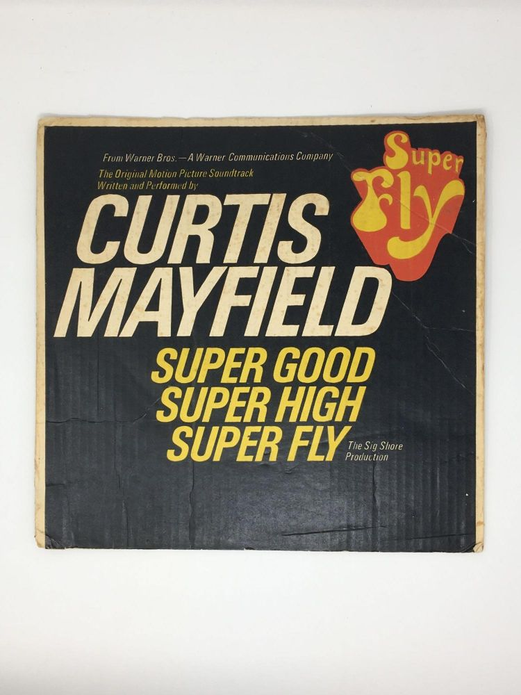 Curtis Mayfield Superfly Promotional Flat. Curtis Mayfield.