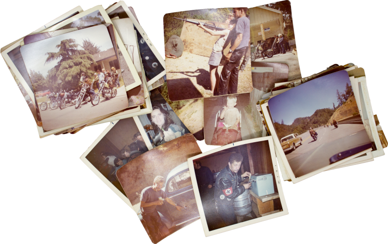 Outlaw Biker Vernacular Photography Collection [Bretheren M.C.]