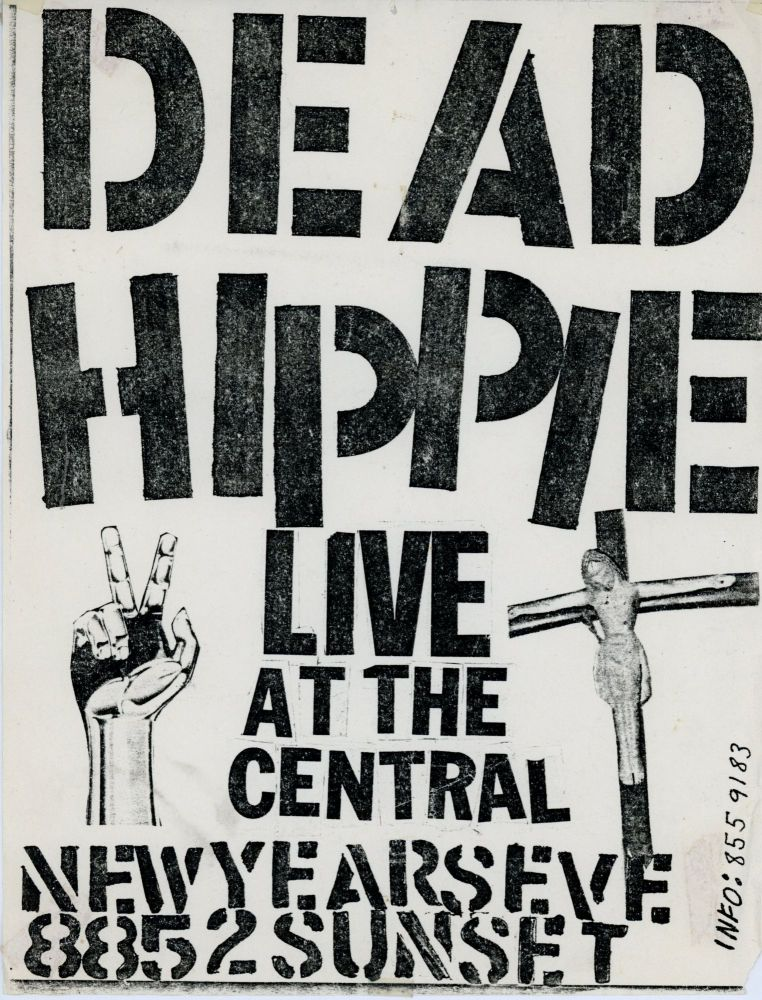 Dead Hippie Live at the Central New Year's Eve. Dead Hippie.