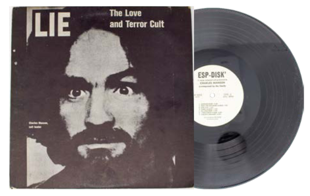 LIE: The Love And Terror Cult [Manson Family LP]. Charles Manson.
