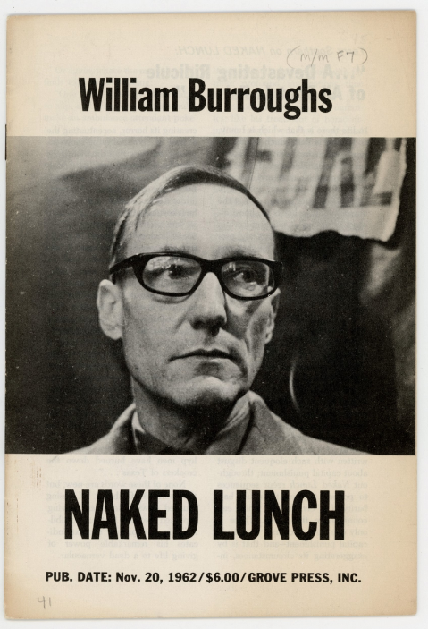 Naked Lunch Promotional Booklet. William Burroughs.