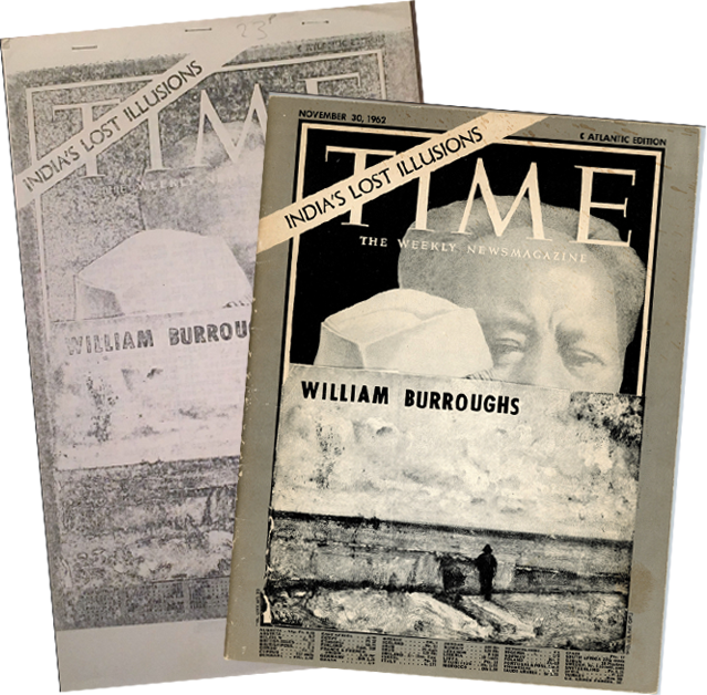 Time [Original and Bootleg, Signed]. William S. Burroughs, Brion Gysin.