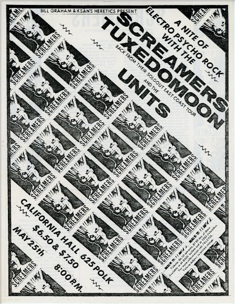 A Nite of Electro Psycho Rock with the Screamers, Tuxedomoon, and the Units