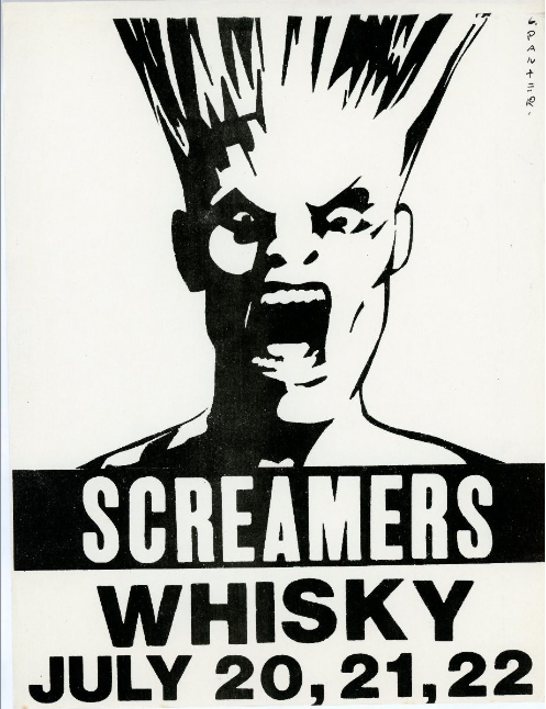 Screamers at the Whisky: July 20, 21, 22. Gary Panter.