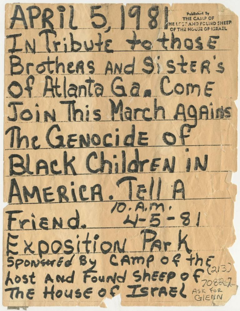 In Tribute to those Brothers and Sisters of Atlanta Ga.