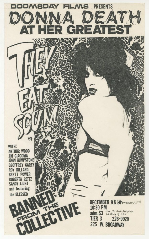 Donna Death At Her Greatest: They Eat Scum by Nick Zodiak