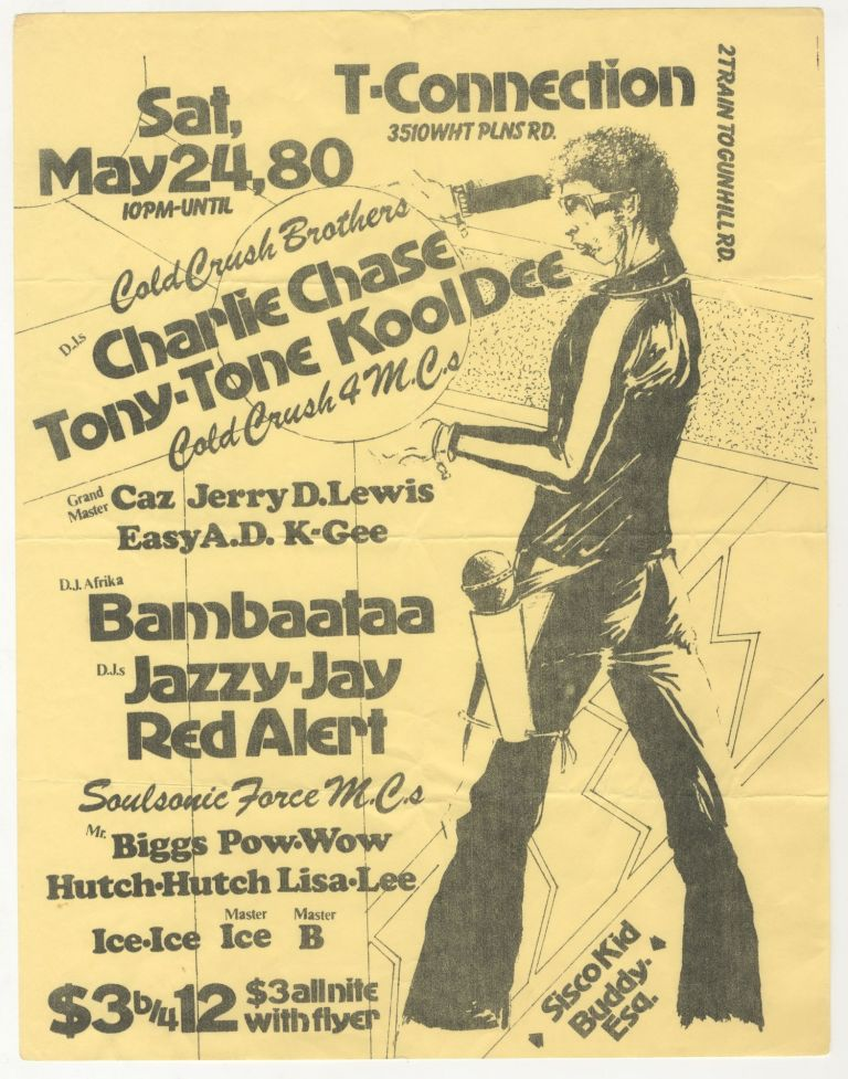T-Connection, May 24, 1980. Buddy Esquire, Sisco Kid.