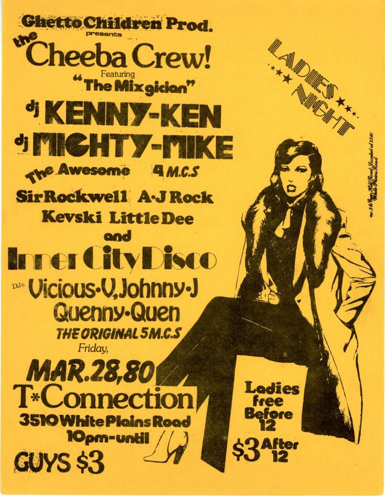 Ladies Night at T Connection: The Cheeba Crew with DJ Kenny Ken and DJ Mighty Mike, etc.