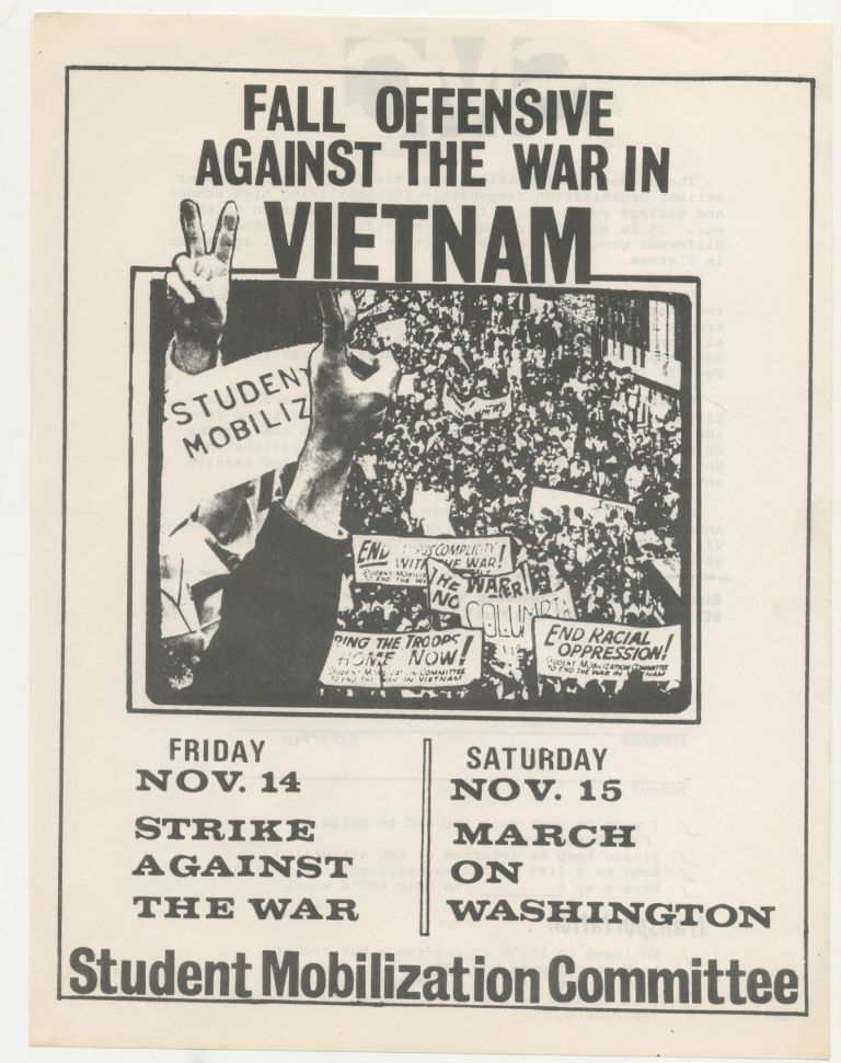 Fall Offensive Against the War in Vietnam