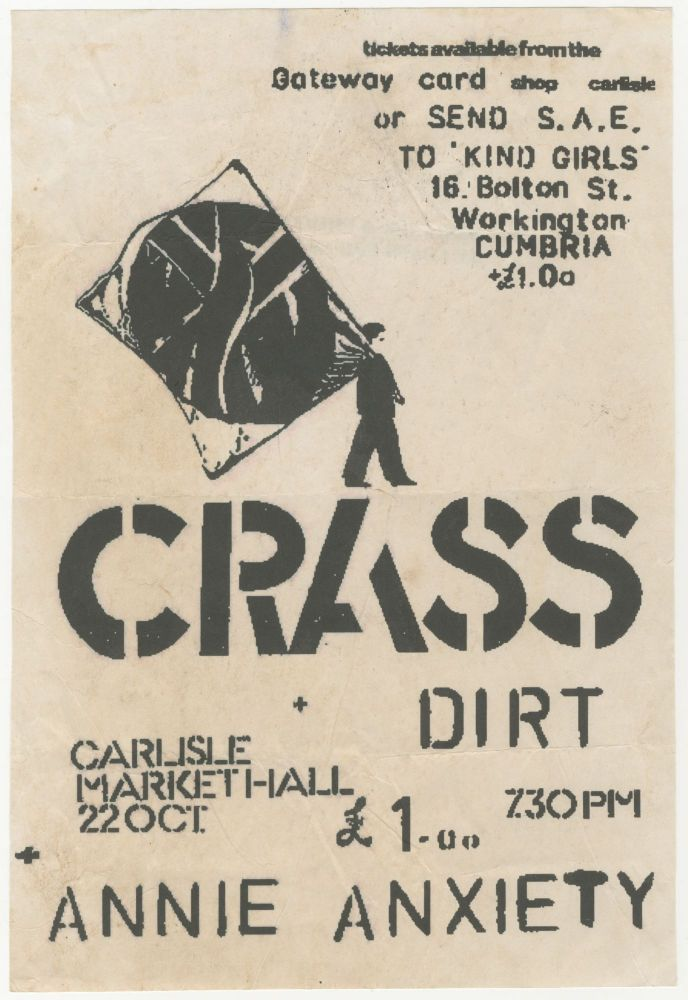 [Forgery, Fakery, Fraud] Crass + Dirt + Annie Anxiety