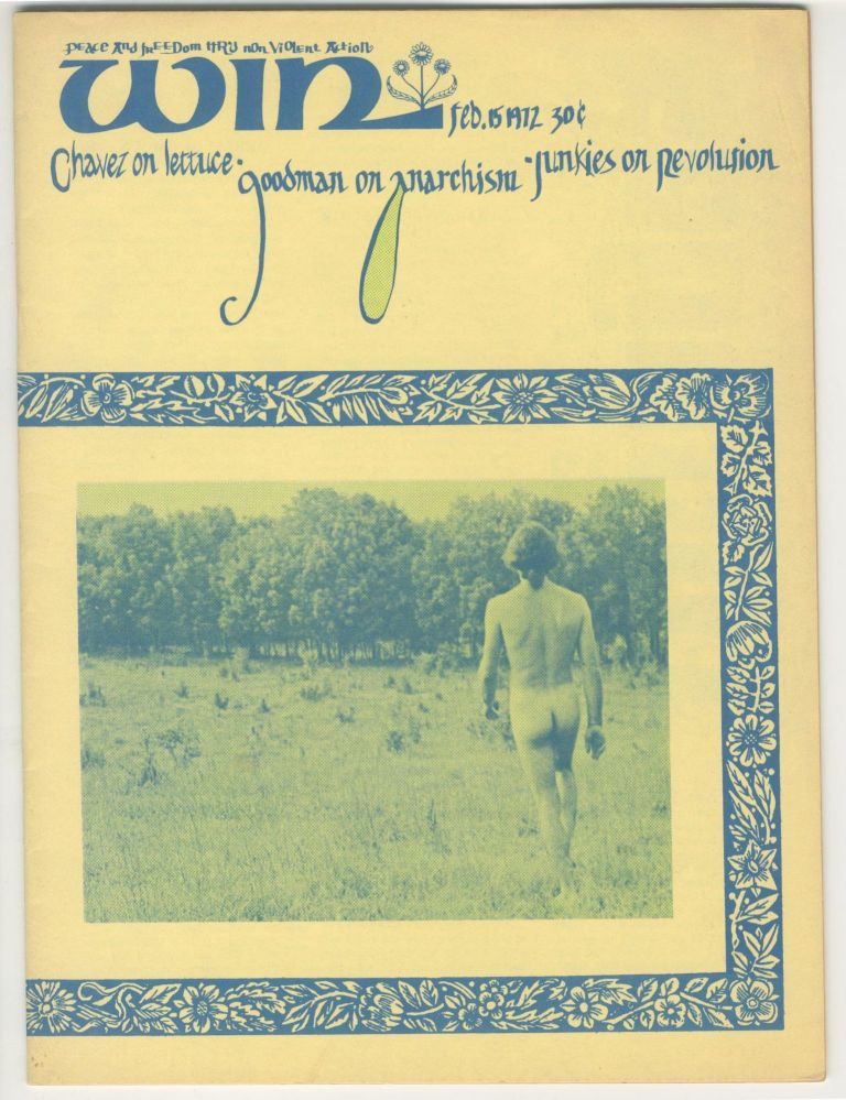 Win: Peace and Freedom Through Non-Violent Action, vol. III, no. 3, February 15, 1972