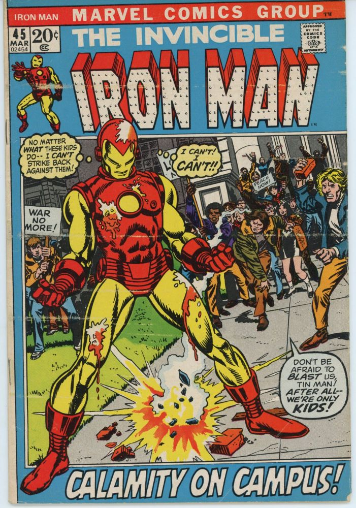 The Invincible Iron Man #45, March 1972