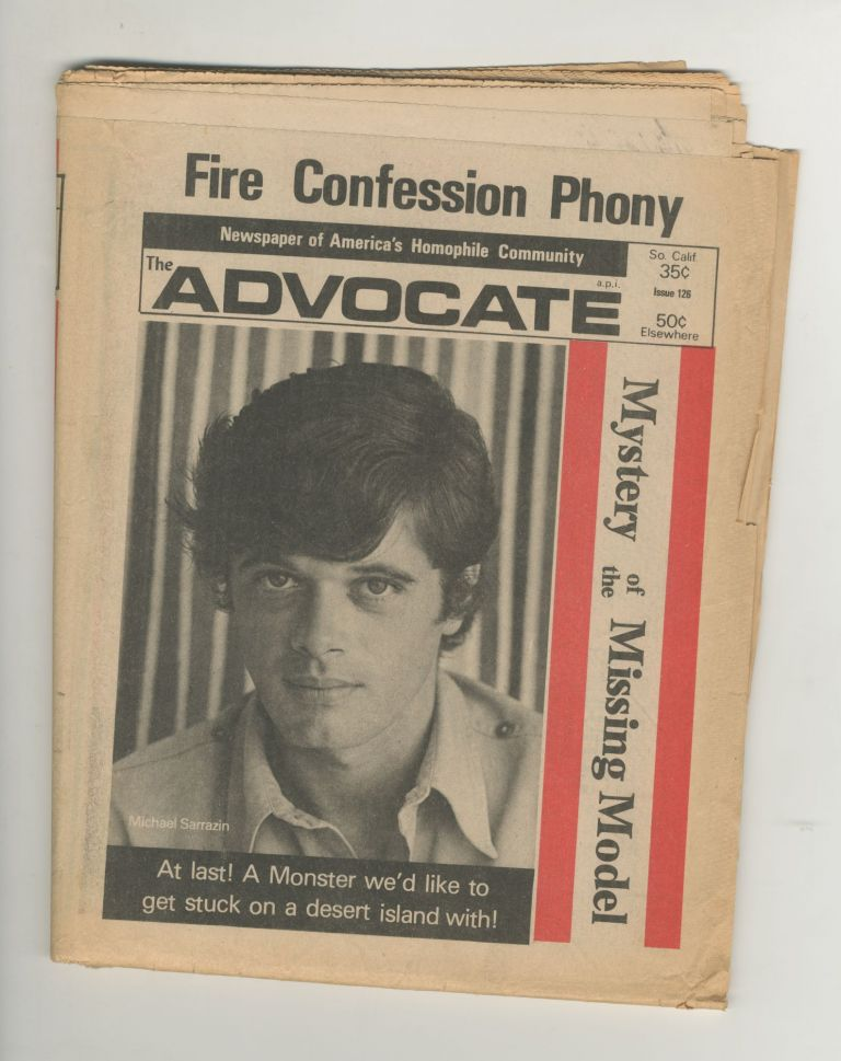 The Advocate, Issue 126