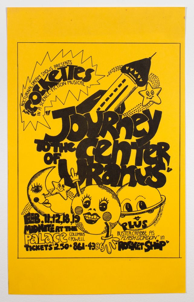 Nocturnal Dream Shows Presents the Cockettes in a Science Fiction Musical: Journey to the Center of Uranus