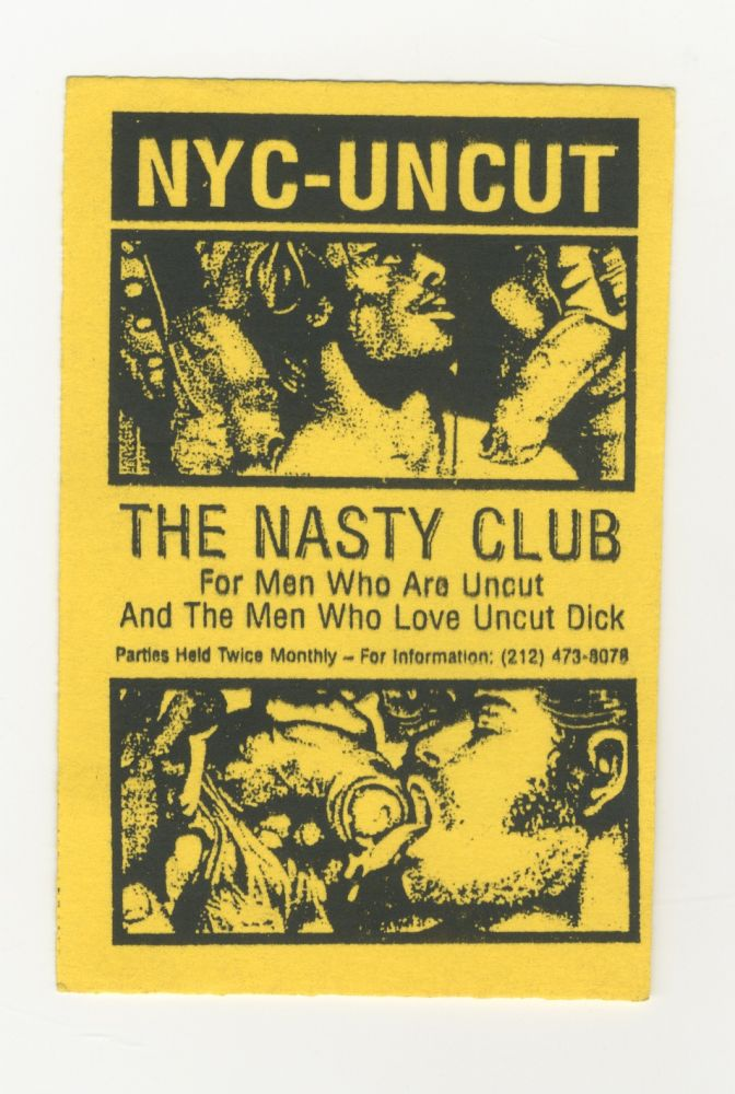 NYC - UNCUT: The Nasty Club party advertisement