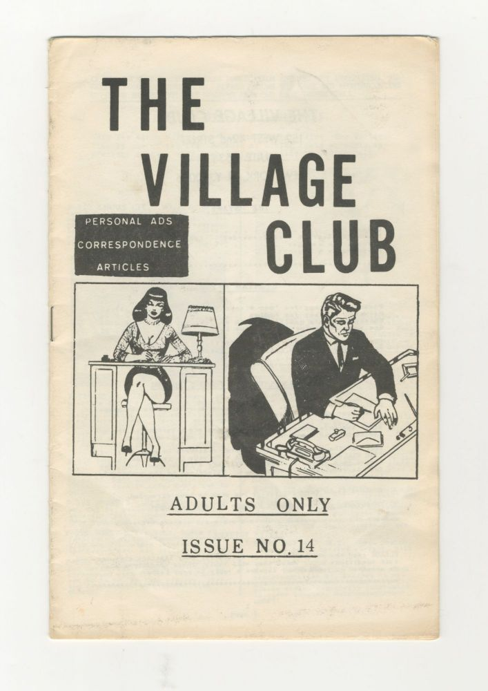 The Village Club: Personal Ads, Correspondence, Articles. Issue No. 14