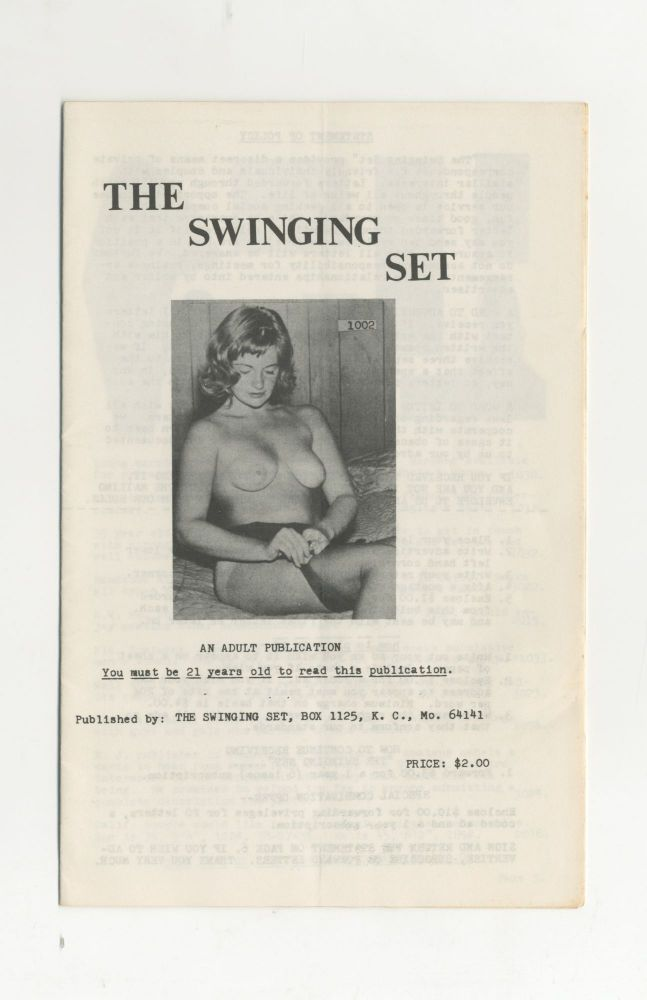 The Swinging Set: An Adult Publication [two issues]
