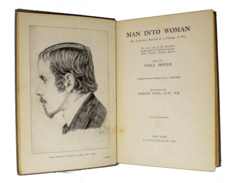 Man Into Woman: An Authentic Record of a Change of Sex [Pre- War Trans Memoir]. Lili Elbe, ed. Niels Hoyer, H J. Stenning, Ernst Ludwig Hathorn Jacobson.