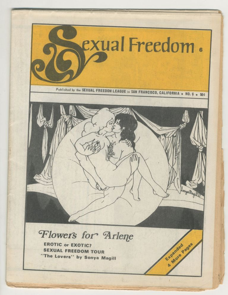 Sexual Freedom: The Journal of the San Francisco Sexual Freedom League, Issue 6. ed Leo Frank.