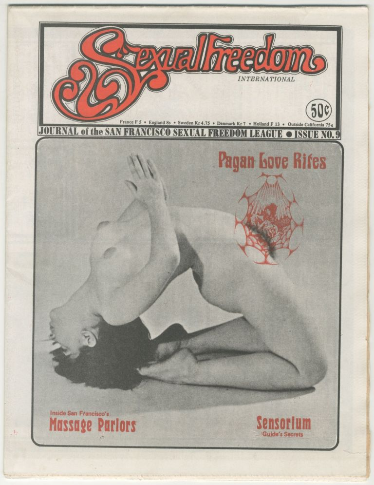 Sexual Freedom: The Journal of the San Francisco Sexual Freedom League, Issue 9. ed Leo Frank.