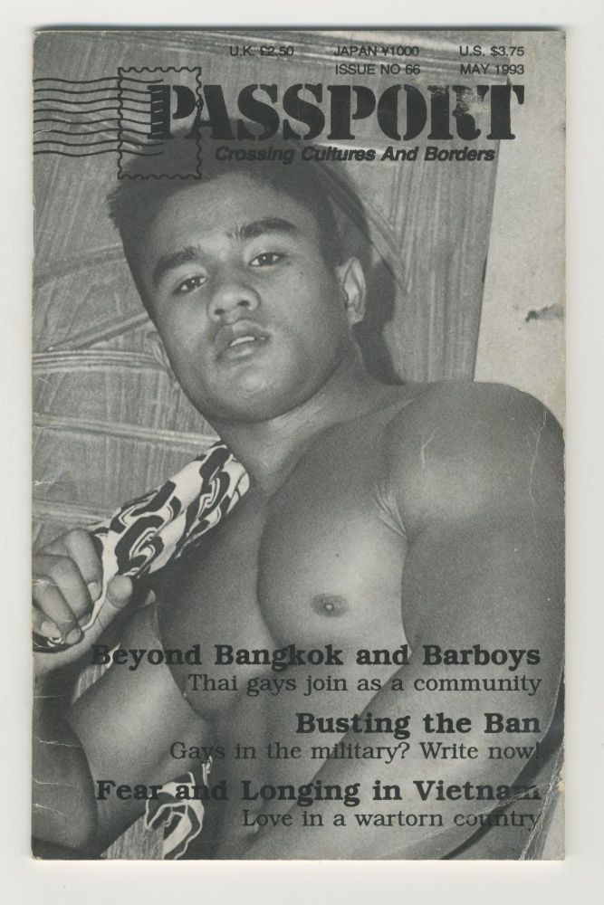 Passport: Crossing Cultures and Borders, issue no. 65, May 1993. pub Rich Johnson.