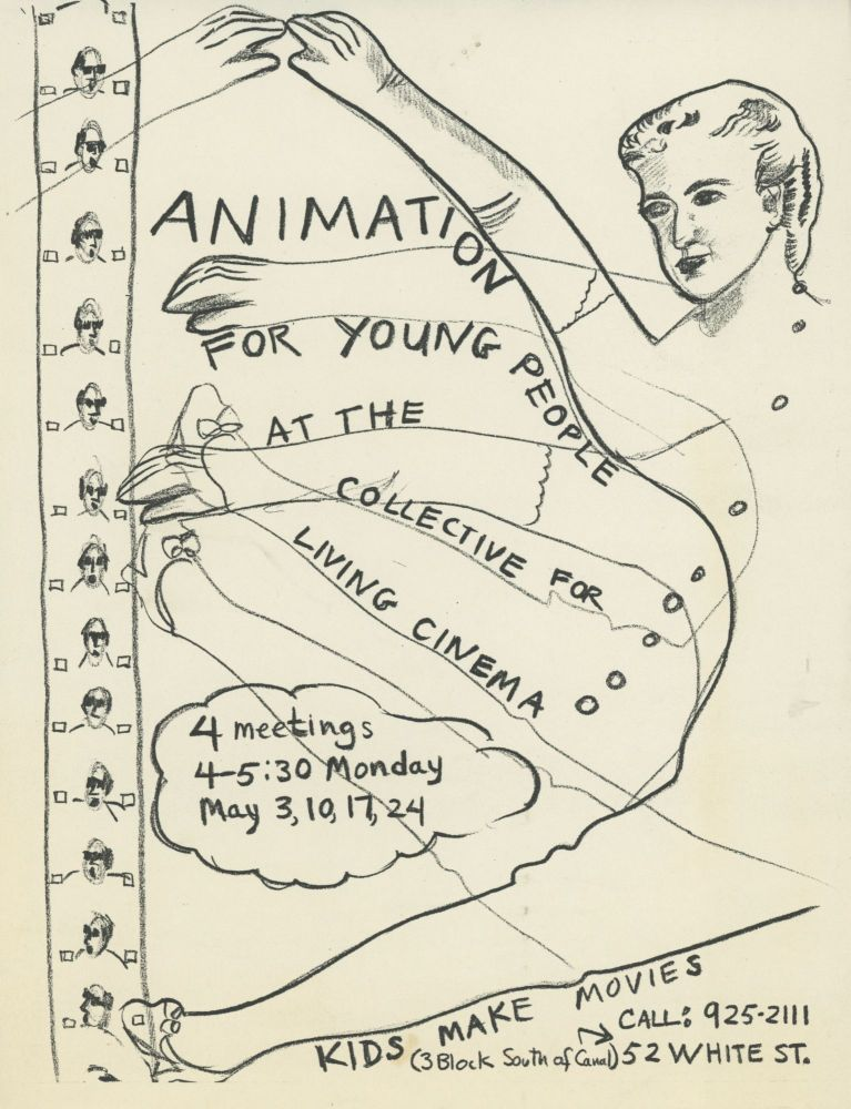 Animation for Young People at the Collective for Living Cinema