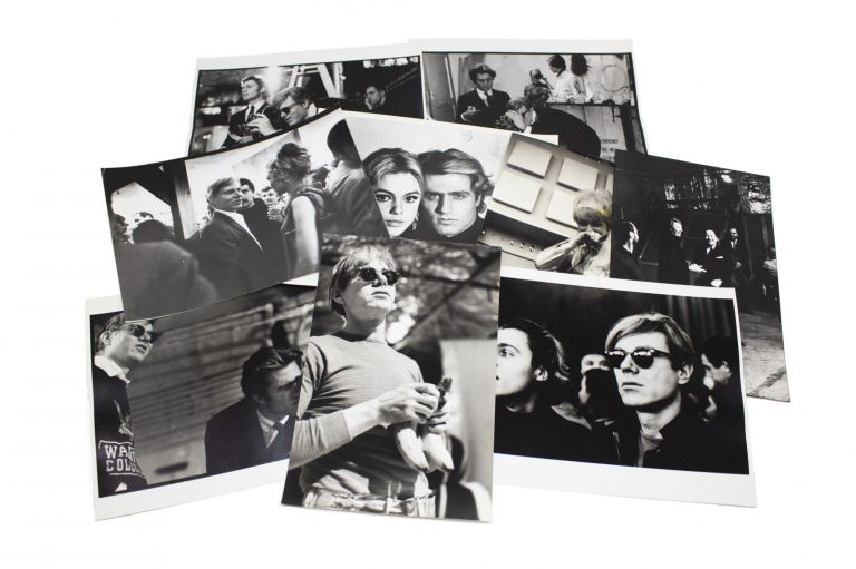 Andy Warhol Behind the Scenes at the Factory Photo Collection. including Billy Name photographers, Gretchen Berg, Linich.