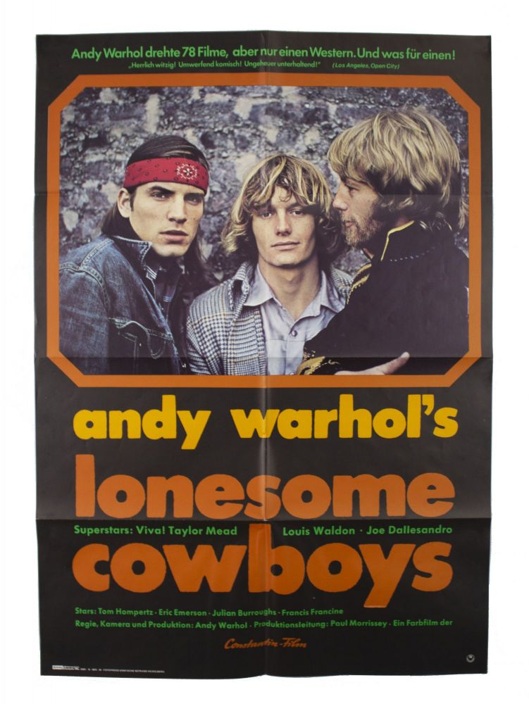 Andy Warhol's Lonesome Cowboys [German Release Poster]