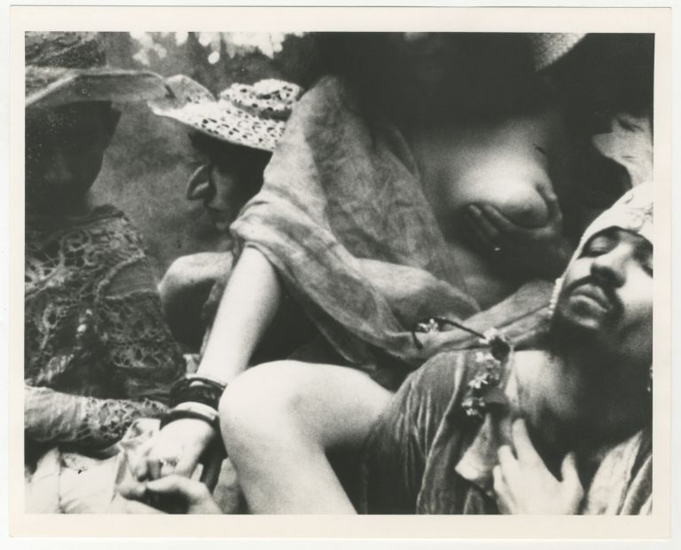 Two Stills from Jack Smith's Flaming Creatures. Jack Smith.