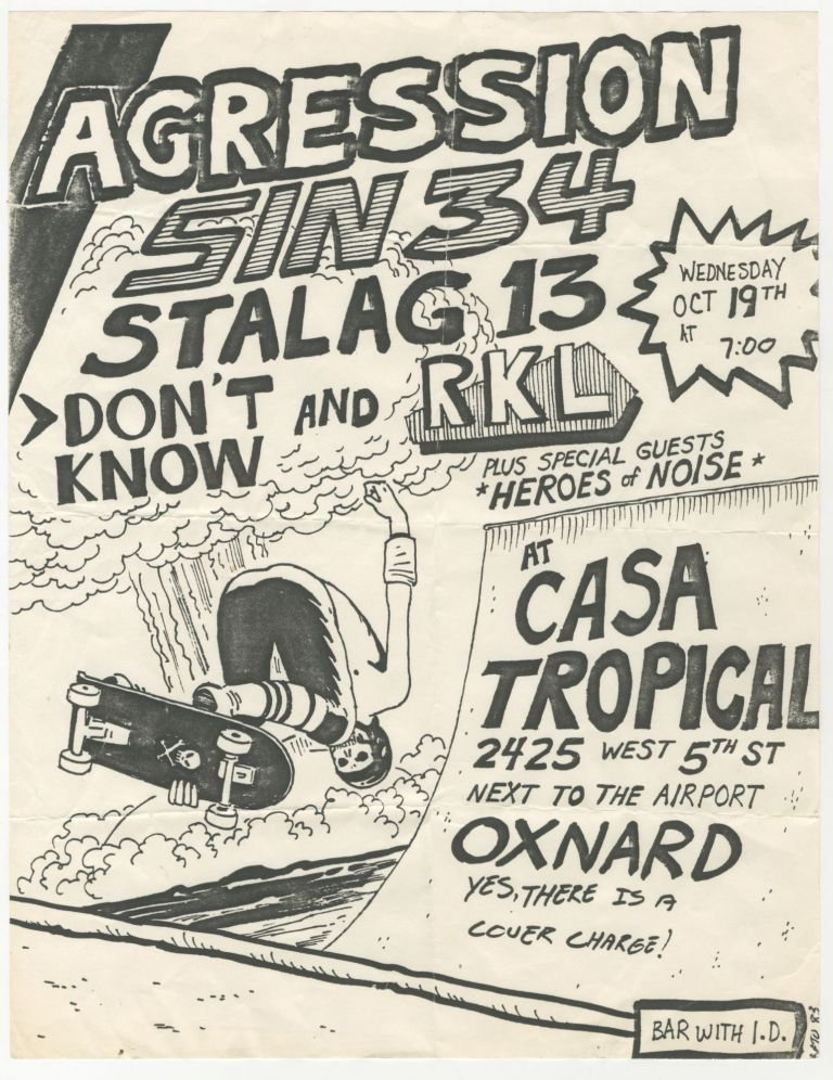 Agression / Sin 34 / Stalag 13 / Don't Know / RKL at Casa Tropical