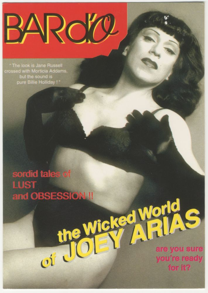 The Wicked World of Joey Arias at Bar d'O