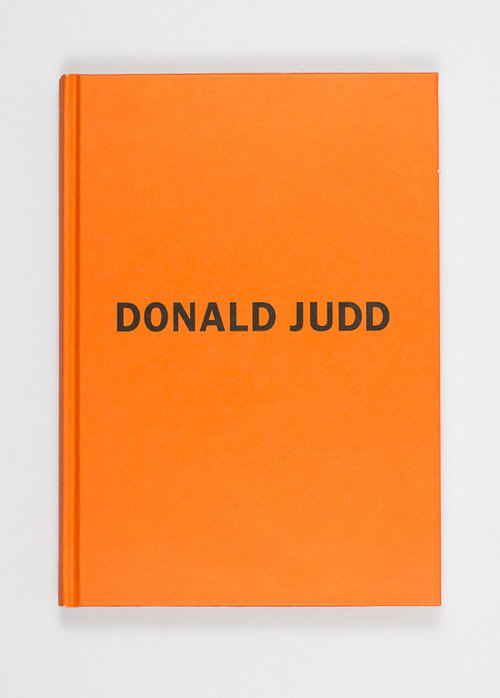 Early Works. Donald Judd.