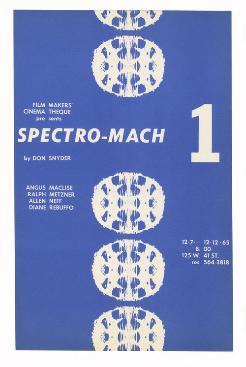 Spectro Mach 1 Flyers. Don Snyder.