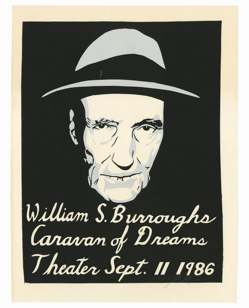 William Burroughs at the Caravan of Dreams