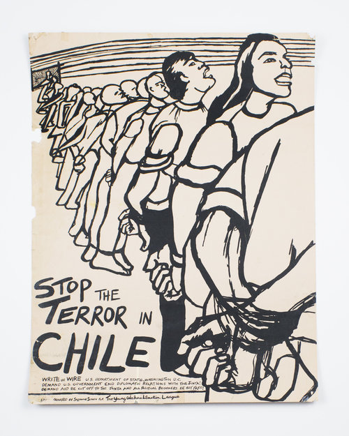 Stop the Terror in Chile. Suzanne Simon.