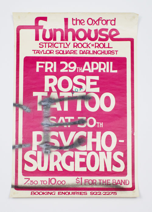 Rose Tattoo and Psycho Surgeons. The Oxford Funhouse.