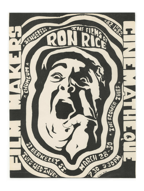 The Films of Ron Rice. Filmmaker's Cinematheque.
