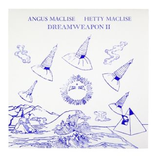 DREAMWEAPON II VINYL LP (SECOND PRESSING). BOO-HOORAY / Angus MacLise, Hetty MacLise