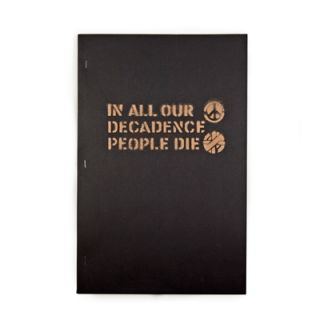 IN ALL OUR DECADENCE PEOPLE DIE 1ST EDITION. BOO-HOORAY / CRASS
