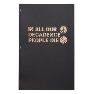 IN ALL OUR DECADENCE PEOPLE DIE 3RD EDITION. BOO-HOORAY / CRASS