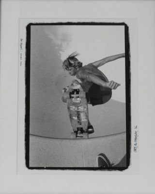 PHOTOGRAPH OF JAY ADAMS. GLEN E. FRIEDMAN.