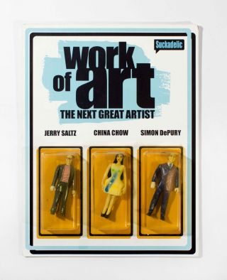 Work of Art: The Next Great Artist, Jerry Saltz, China Chow, Simon DePury