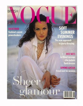 British Vogue June 1993. ed Alexandra Shulman