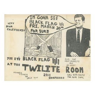 Black Flag – Meat Puppets – Nig Heist – Twilite Room