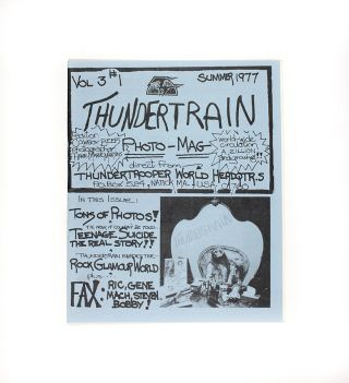 Thundertrain Vol 3 #1. Cowboy Beeps